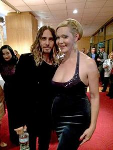 Jared Leto and Calpernia Addams